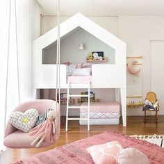 #decorbabyandkids hashtag on Instagram • Photos and Videos Kids Decor, Home Decor, Decor Ideas, House Beds, Bedroom Inspo, Girl Room, Room Inspiration, Kids Rugs, Instagram