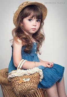 Maya Irene Wada (born May 18, 2008) fashion child model and actress from Russia. Photo by Skoraya Alena.