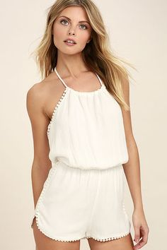 Cute sexy rompers and jumpsuits for women and juniors. Fresh looks from new designers. Free shipping over $50. Be unique!