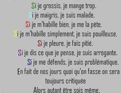 Words Quotes, Life Quotes, Sayings, Photo Humour, Good Quotes For Instagram, French Quotes, Some Words, Positive Attitude, Life Inspiration