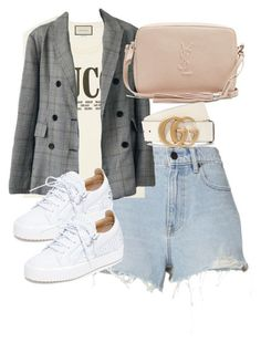 Classy Outfits, Stylish Outfits, Fall Outfits, Summer Outfits, Gucci Outfits, Fashion Outfits, Womens Fashion, Fashion Tips, Polyvore Outfits