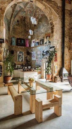 Dream Home Design, My Dream Home, Home Interior Design, Interior Architecture, House Design, Architectural Digest, Italian Home, House Inside, House Goals