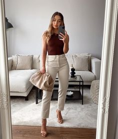 Cute Summer Outfits, Cute Casual Outfits, Stylish Outfits, Spring Outfits, Business Casual Outfits, Office Outfits, Mode Outfits, Fashion Outfits, Elegantes Outfit