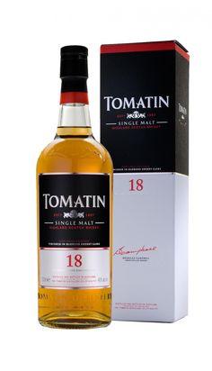 Scotch Highland Single Malt Whisky Tomatin 18 Años. www.entrecow.com