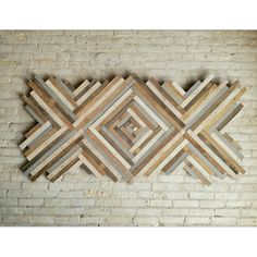 At Eleventy One Studio you can bring your designs to life.  This is an example of a custom piece we made recently out of reclaimed lath. It measures nearly 75 in by 36 in.  Just send us a message if you would like to start your own custom order today!