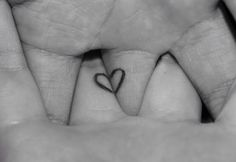 Heart love tatoo ❤️