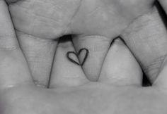 Heart love tatoo ❤️