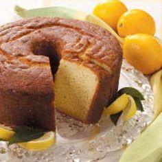 Lemon-Buttermilk Pound Cake Recipe from Taste of Home -- shared by Marianna King, Gastonia, North Carolina