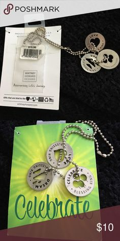 Jewelry Fun inspirational necklace with 16 inch chain Jewelry Necklaces
