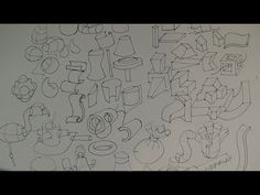 How to Draw Complex Forms Part 1   Start with the simple forms - YouTube