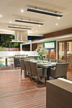 Dream outside dining space!! COS Design | Kirkstall Close | Contemporary Dining Room