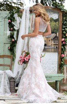 Sherri hill 11278 bridal 2016 collection pinterest prom for Wedding dresses for cruise ship
