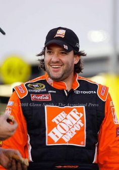 Tony Stewart at Daytona 2008