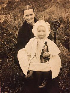Sarah Kepler Huey, younger sister to Elizabeth Kepler Byers, age 62 in 1912.