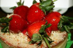Cómo hacer la cobertura brillante para tartas de fruta   Preparado de gelatina transparente