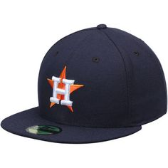 Houston Astros New Era Men's Authentic On-Field Performance 59FIFTY Home Fitted Hat - Navy