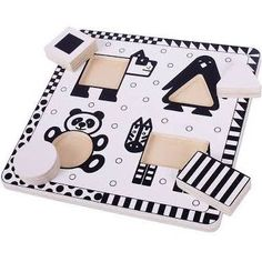black white red baby toys - Google Search