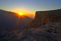 Oman | Sunrise, Jebel Shams. view on Fb https://www.facebook.com/OmanPocketGuide #oman  credit: mike-mojopin