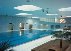 Mikou Studio bases Paris swimming pool on Feng Shui philosophy