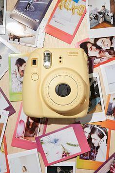 Fujifilm instax mini 8 instant camera - urban outfitters fuji polaroid came Instax Mini 8 Camera, Fujifilm Instant Camera, Fujifilm Instax Mini 8, Fuji Polaroid, Polaroid Photos, Polaroid Cameras, Best Friend Gifts, Gifts For Friends, Best Friends