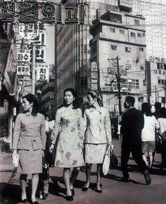 Seoul: Myeong-dong, 1965