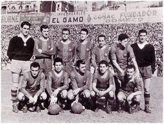 Equipos de fútbol: BARCELONA contra Real Sociedad 03/04/1955