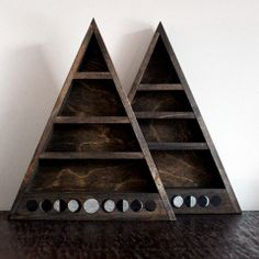 Empty Moon Phase Shelf