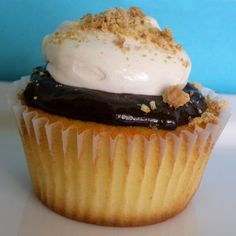 S'mores Cupcakes | Recipes | Spoonful