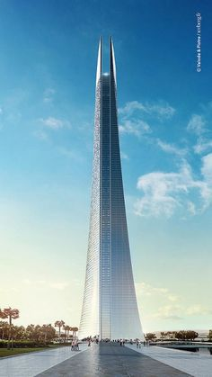 Africa's tallest skyscraper slated for construction in 2015 | The tower is based in Casablanca, Morocco [Futuristic Architecture: http://futuristicnews.com/category/future-architecture/]
