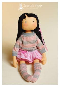 Hand made doll - Zuzia