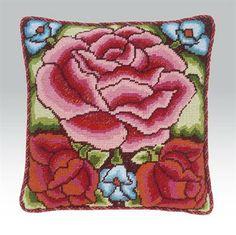 Mexican Rose - Strik og broderi - garn, kits og designs i Sommerfuglen