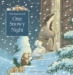 One Snowy Night (Tales From Percy's Park) by Nick Butterworth (Paperback, for sale online Percy The Park Keeper, Richard Briers, Butterworth, Fiction Novels, Art Lessons Elementary, Winter Art, Winter Ideas, Kids Reading, Stories For Kids