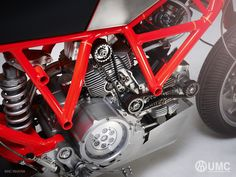 Untitled Motorcycles UMC-038 Ducati Scrambler. Designed and built by Hugo Eccles in San Francisco, California. sanfran@untitledmotorcycles.com