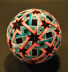 "Japanese photographer NanaAkua photographed the creations of her grandmother, who creates ""Temari"""