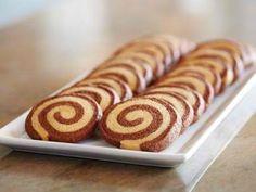 Chocolate-Orange Pinwheel Cookies [RECIPES]