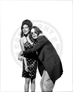 Amy Winehouse and Ozzy Osbourne Amy Winehouse, Janis Joplin, Beautiful Voice, Beautiful People, Amazing Amy, Awesome, Black And White City, Ozzy Osbourne, Artists