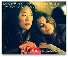 She's my person. If I murdered someone, she's the person I'd call to help me drag the corpse across the living room floor. She's my person [Grey's Anatomy] Meredith Grey, Meredith E Cristina, Meredith And Christina, Cristina Yang, Grey's Anatomy, Greys Anatomy Frases, Dark And Twisty, Ministry Of Magic, Sandra Oh