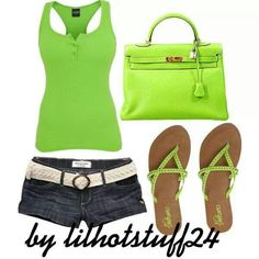 Lime green