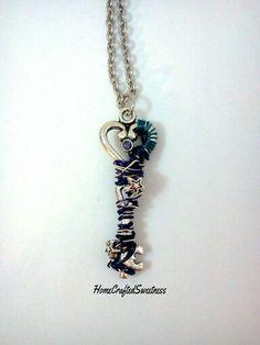 Key necklace by HomeCraftedSweetness