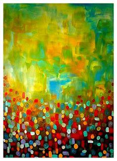 Fine Art Print Modern Abstract Contemporary by NYoriginalpaintings, $14.99