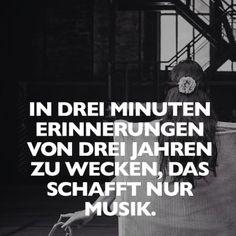 In drei Minuten Erinnerungen von drei Jahren wecken, das schafft nur Musik.
