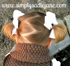 Simply Sadie Jane: Search results for Toddler hair Cute Little Girl Hairstyles, Baby Girl Hairstyles, Princess Hairstyles, Toddler Hairstyles, Cool Hairstyles, Teenage Hairstyles, Girl Hair Dos, Kid Hair, Little Girl Fashion