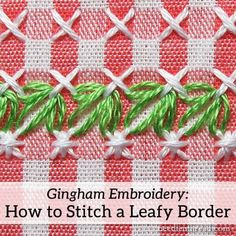 gingham-embroidery-leafy-border-01.jpg (600×600)