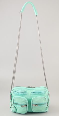 Alexander Wang mint chain bag  i have a blue one but i want this mint one!!