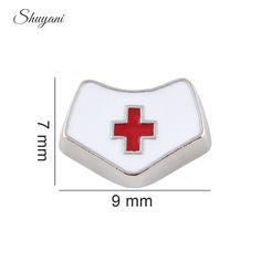 Find More Charms Information about 7*9mm Floating Locket Charms Enamel White Nurse Cap Charms For Glass Living Locket,High Quality cap charm,China cap tree Suppliers, Cheap charm bracelet from shuyani Official Store on Aliexpress.com