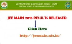 JEE Main 2015 Result Highlights: Around 1,50,000 candidates will be shortlisted from different categories for appearing in JEE Advanced 2015. Registration for JEE Advanced 2015 will be done online from May 2 to 7, 2015. You need to sign in with your JEE Main 2015 Roll Number and password to proceed for the registration process.  Click here to chec...