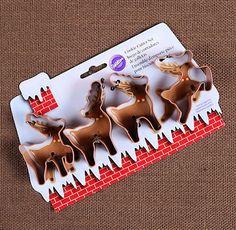 Reindeer Cookie Cutters