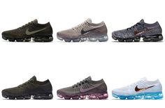 Nike Officially Unveils Seven New Colorways Of The Nike Air VaporMax + Release Dates