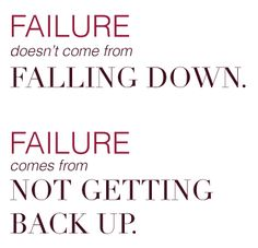 Failure Is Your Key to Success