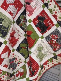 Scottie dog quilt - wip block | Dog quilts, Dog and Patchwork : scottie quilt pattern - Adamdwight.com